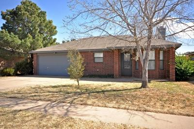 Lubbock Single Family Home For Sale: 2103 91st Street
