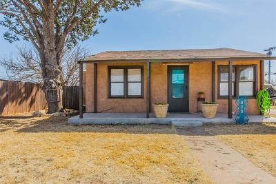 Lubbock County Single Family Home Under Contract: 509 5th Street