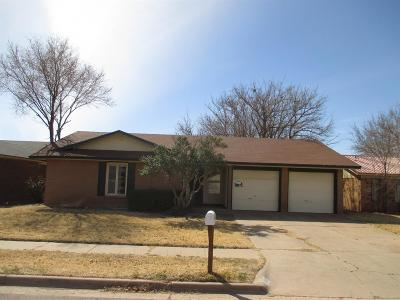 Lubbock County Single Family Home Under Contract: 5509 2nd Street