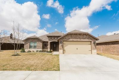 Lubbock Single Family Home Under Contract: 6904 71st Street