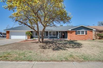 Lubbock TX Single Family Home Under Contract: $194,900