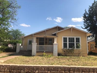 Single Family Home Under Contract: 2113 16th Street