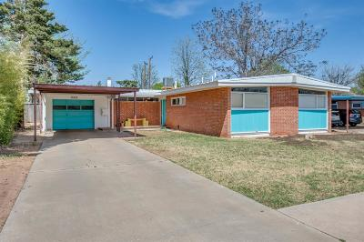 Lubbock Single Family Home Under Contract: 2512 46th Street