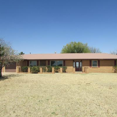 Lubbock Single Family Home Under Contract: 8604 34th Street