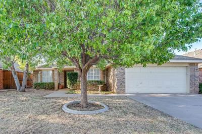 Lubbock TX Single Family Home Under Contract: $175,000
