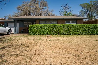 Lubbock Single Family Home Under Contract: 2820 55th Street