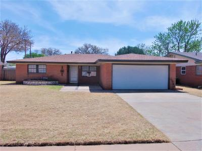 Lubbock Single Family Home Under Contract: 5203 7th Street