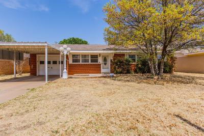 Lubbock Single Family Home For Sale: 3006 58th Street