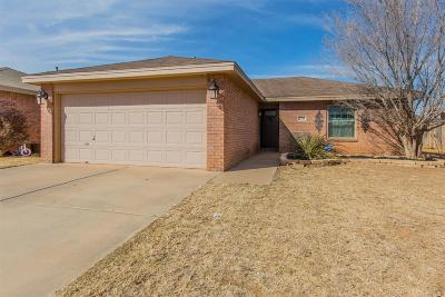 Lubbock Single Family Home Under Contract: 2710 110th Street