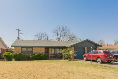Lubbock Single Family Home For Sale: 2111 65th Street