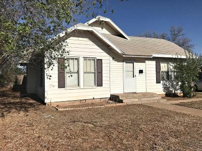 Slaton Single Family Home For Sale: 1130 S 12th Street