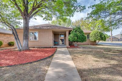 Lubbock Single Family Home Under Contract: 4719 65th Street