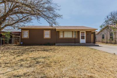 Lubbock Single Family Home For Sale: 1917 36th Street