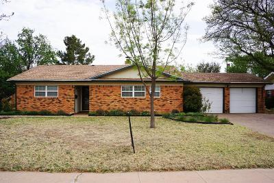 Brownfield Single Family Home For Sale: 1708 Gillham Drive