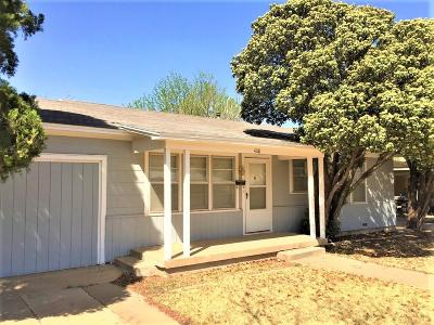 Lubbock Single Family Home For Sale: 4118 31st Street