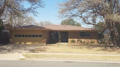 Lubbock Single Family Home Under Contract: 5438 8th Place