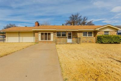 Lubbock Single Family Home For Sale: 3122 58th Street