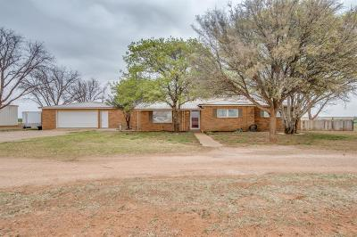 Brownfield Single Family Home Under Contract: 1728 Pecan Drive