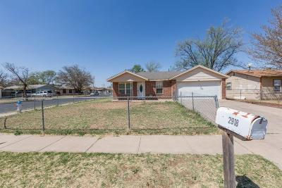 Lubbock Single Family Home For Sale: 2918 Beech Avenue