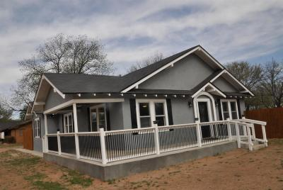 Tahoka Single Family Home For Sale: 1801 Ave O