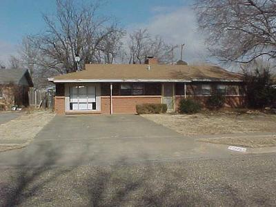 Lubbock Single Family Home For Sale: 5426 43rd Street