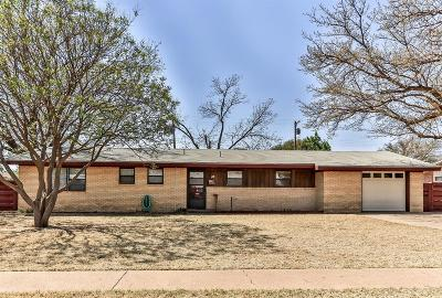 Lubbock Single Family Home For Sale: 4611 37th Street