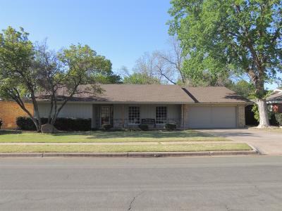 Lubbock Single Family Home For Sale: 3423 61st Street