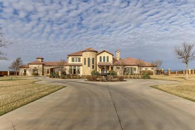Lubbock TX Single Family Home For Sale: $1,950,000