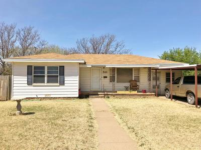 Abernathy Single Family Home Under Contract: 311 Ave J