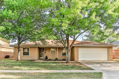 Lubbock TX Single Family Home Under Contract: $149,000