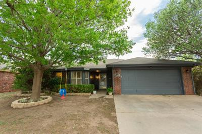 Lubbock Single Family Home For Sale: 5729 96th Street