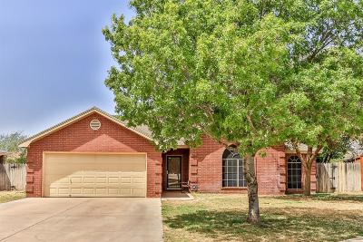 Lubbock Single Family Home For Sale: 9702 Weatherford Avenue