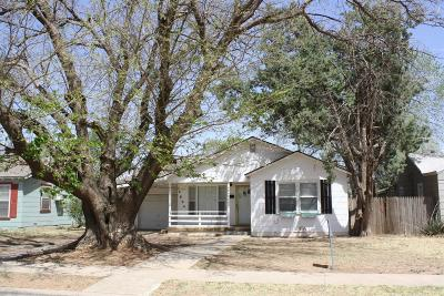 Lubbock Single Family Home For Sale: 2604 39th Street