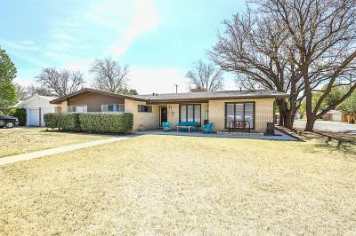 Lubbock Single Family Home For Sale: 3417 57th Street