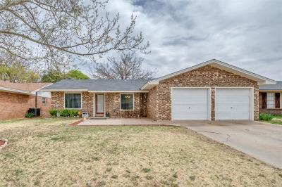 Lubbock Single Family Home Under Contract: 5505 2nd Street