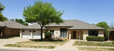 Lubbock Single Family Home For Sale: 3906 96th