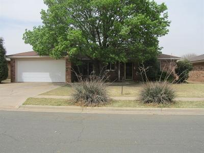 Lubbock Single Family Home For Sale: 5414 94th Street