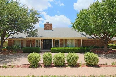 Lubbock Single Family Home For Sale: 8404 Utica Avenue