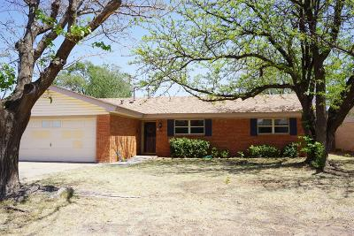 Lubbock Single Family Home For Sale: 705 Dover Avenue