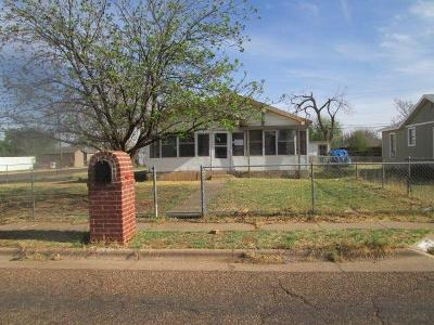 Lubbock TX Single Family Home For Sale: $29,000