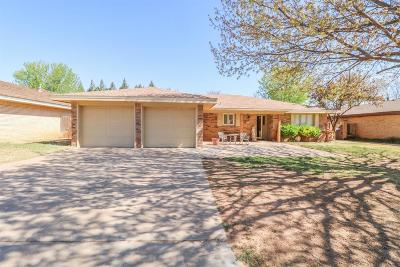 Bailey County, Lamb County Single Family Home Under Contract: 107 E 26th Street