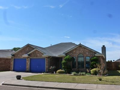 Lubbock TX Single Family Home Under Contract: $170,000