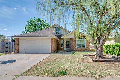 Lubbock TX Single Family Home For Sale: $129,950