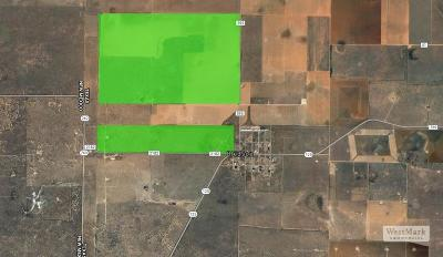 Cochran County, Crosby County, Dickens County, Garza County, Hale County, Hockley County, Lamb County, Lubbock County, Lynn County, Terry County Farm & Ranch For Sale: Farm Road 595