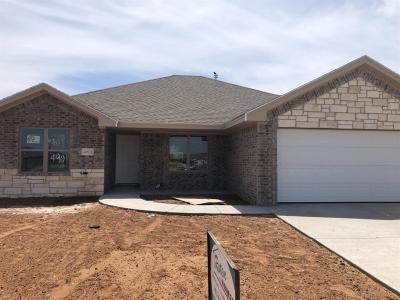 Lubbock TX Single Family Home For Sale: $192,650