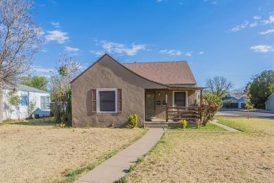 Lubbock TX Multi Family Home For Sale: $124,950