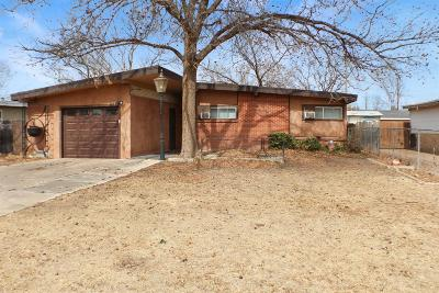 Lubbock TX Single Family Home For Sale: $78,000