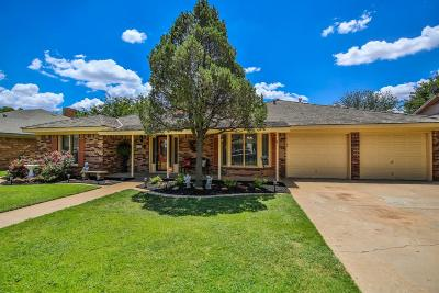 Lubbock TX Single Family Home Under Contract: $245,000