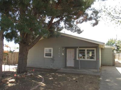 Lubbock TX Single Family Home For Sale: $69,000