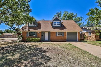 Lubbock Single Family Home For Sale: 2001 70th Street
